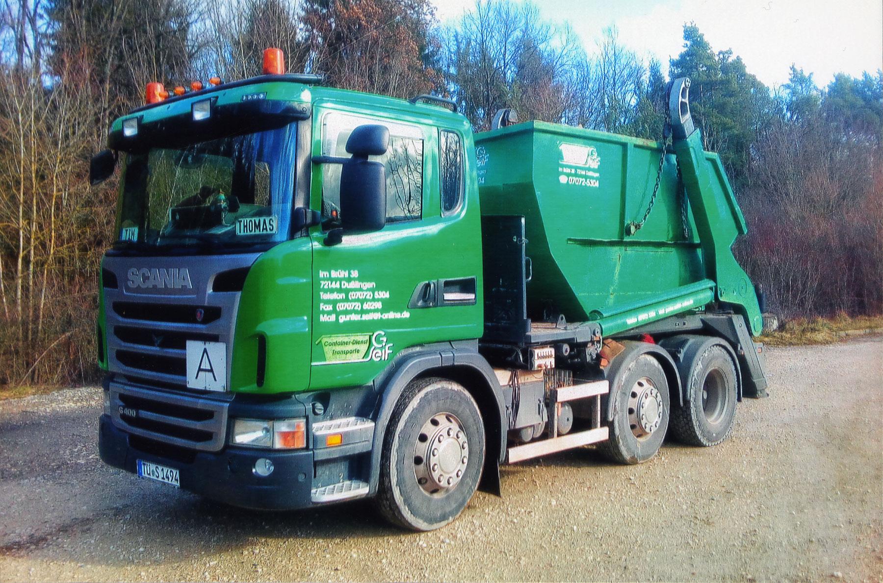 LKW für Containertransporte